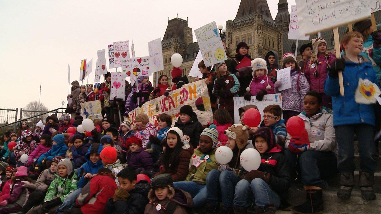 Rédaction d'une Déclaration de réconciliation avec les élèves