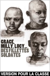 Grace, Milly, Lucy... des fillettes soldates