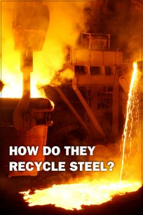 How Do They Recycle Steel?