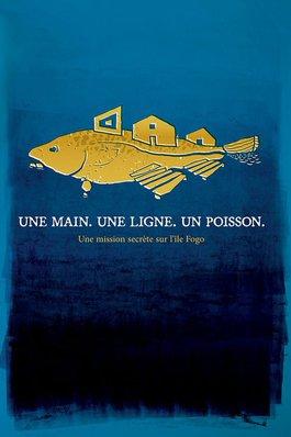 Une main. Une ligne. Un poisson.