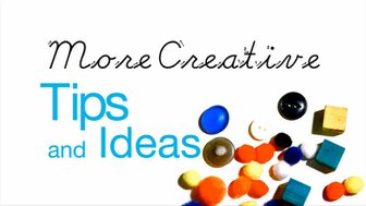 StopMoStudio - More Creative Tips and Ideas : Introduction