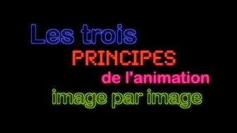 StudioStopMo - Les trois principes de l'animation