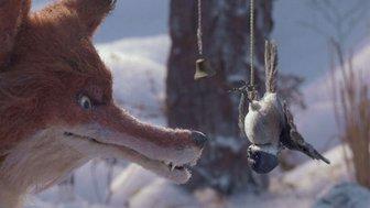Le renard et la mésange