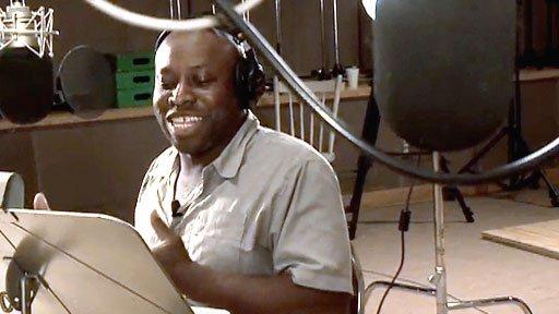 L'enregistrement des voix pour l'Entrevue