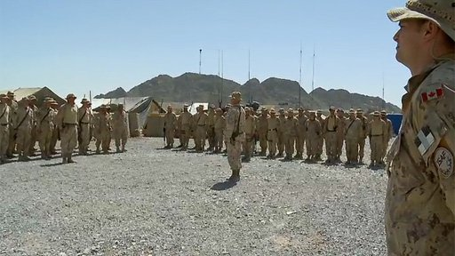 The Van Doos in Afghanistan - A Minute of Silence