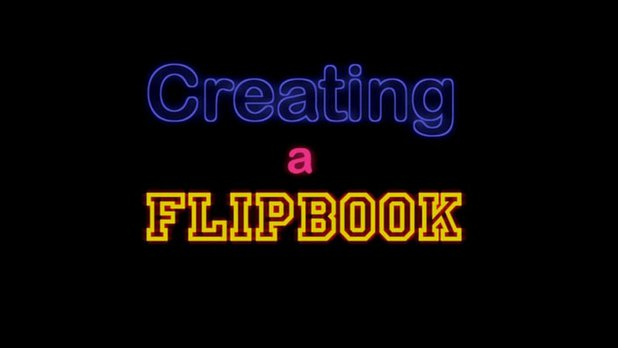 StopMoStudio - Creating a Flipbook