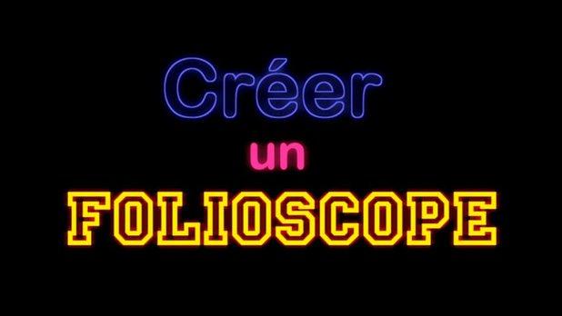 StudioStopMo - Créer un folioscope