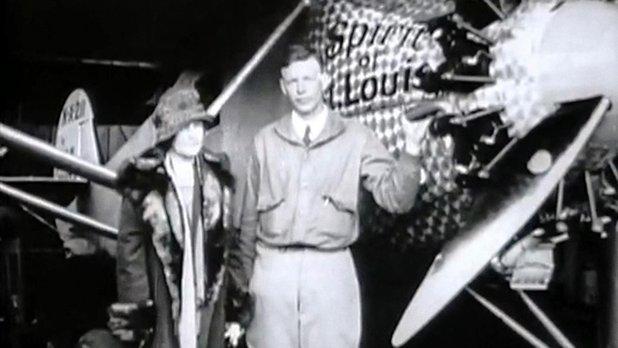 Mystères d'archives : 1927 Lindbergh traverse l'Atlantique