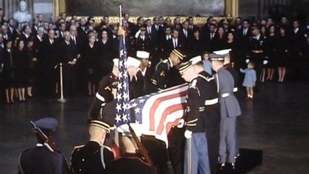 Mystères d'archives : 1963 funérailles de John F. Kennedy