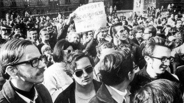 Les événements d'octobre 1970