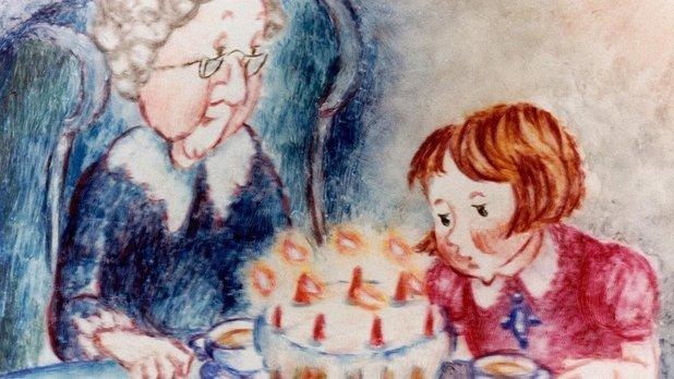Avec grand-mère