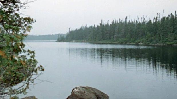 Débarque-moué au lac des Vents