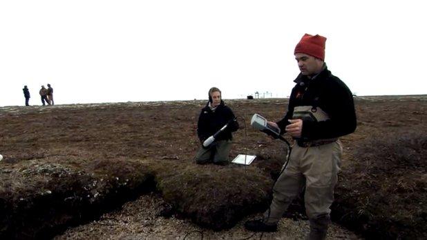 La science au sommet du monde - Travail sur le terrain : analyse de l'eau au Parc National Wapusk