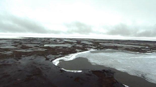 La science au sommet du monde - Travail sur le terrain : le relèvement isostatique au Parc National Wapusk