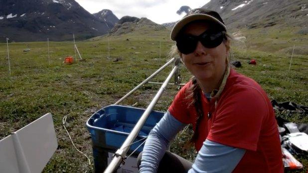 La science au sommet du monde - Travail sur le terrain : rencontrez une écologiste de Parcs Canada
