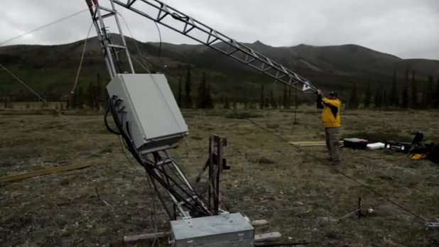 La science au sommet du monde - Travail sur le terrain : le défi d'une station météorologique au Parc National Ivvavik