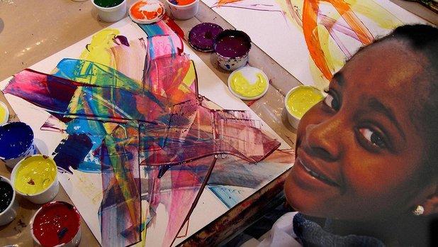 Moi, je fais de l'art comme Marcelle Ferron