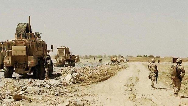 Le 22e Régiment en Afghanistan - La route de Mushan