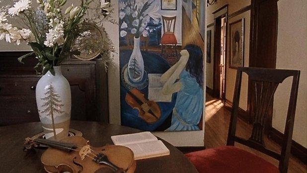 Le violon sur la toile
