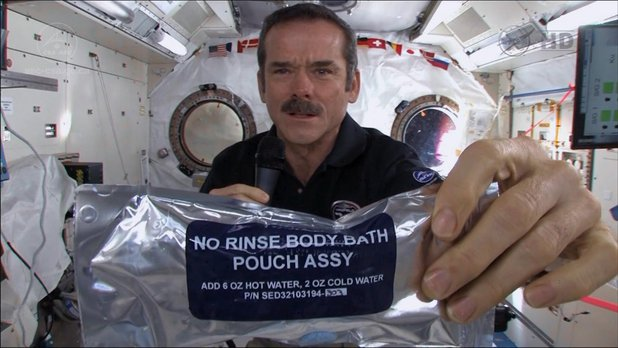NFB Space School - Health - Lesson 5 - Chapter 3 - Hygiene in Space