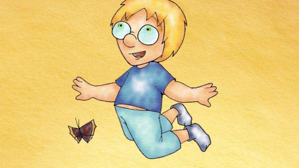 Philippe et le papillon