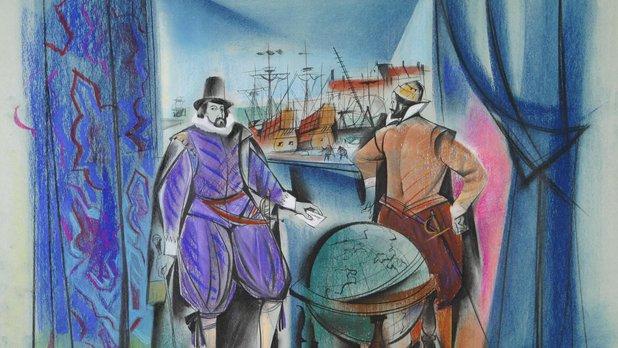 Québec 1603 - Samuel de Champlain