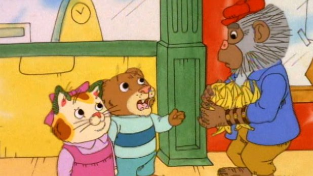 The Busy World of Richard Scarry: Season 5 - (Episode 57) Never Too Small / Albert, the Belgian Barge Captain / Rainy Day