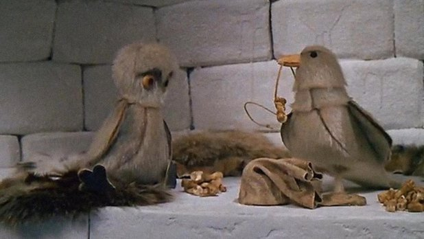Le hibou et le corbeau : une légende eskimo
