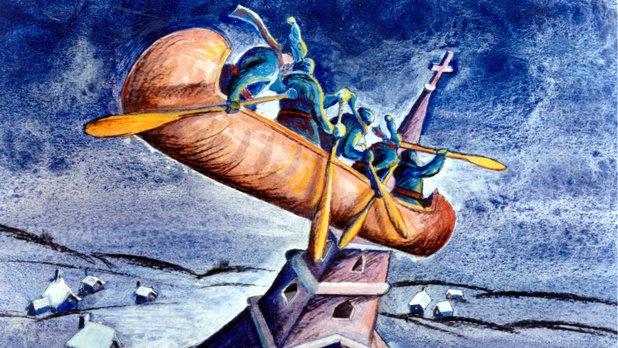 La légende du canot d'écorce