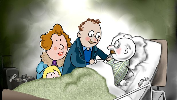 Uncle Bob's Hospital Visit