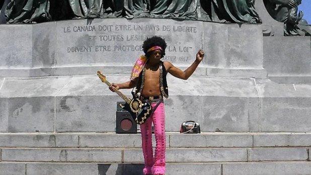 Sacrée montagne - La statue - Le fantôme de Jimi Hendrix