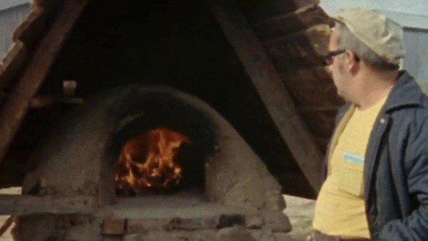 Le pain d'habitant (1re partie) - Construction du four