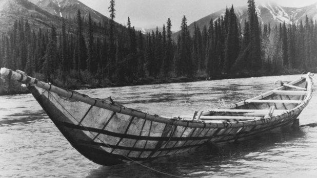 The Last Mooseskin Boat
