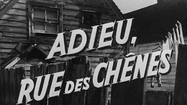 Adieu, rue des Chênes