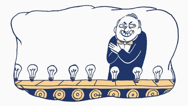 La liste des choses qui existent – L'ampoule