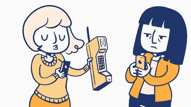 La liste des choses qui existent – Le téléphone