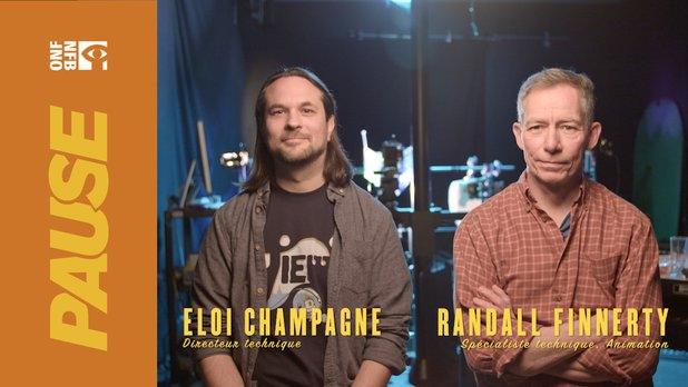 Pause ONF | Dans les studios d'animation avec Eloi et Randall