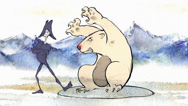 Nunavut Animation Lab: The Bear Facts (Version Inuktitut)
