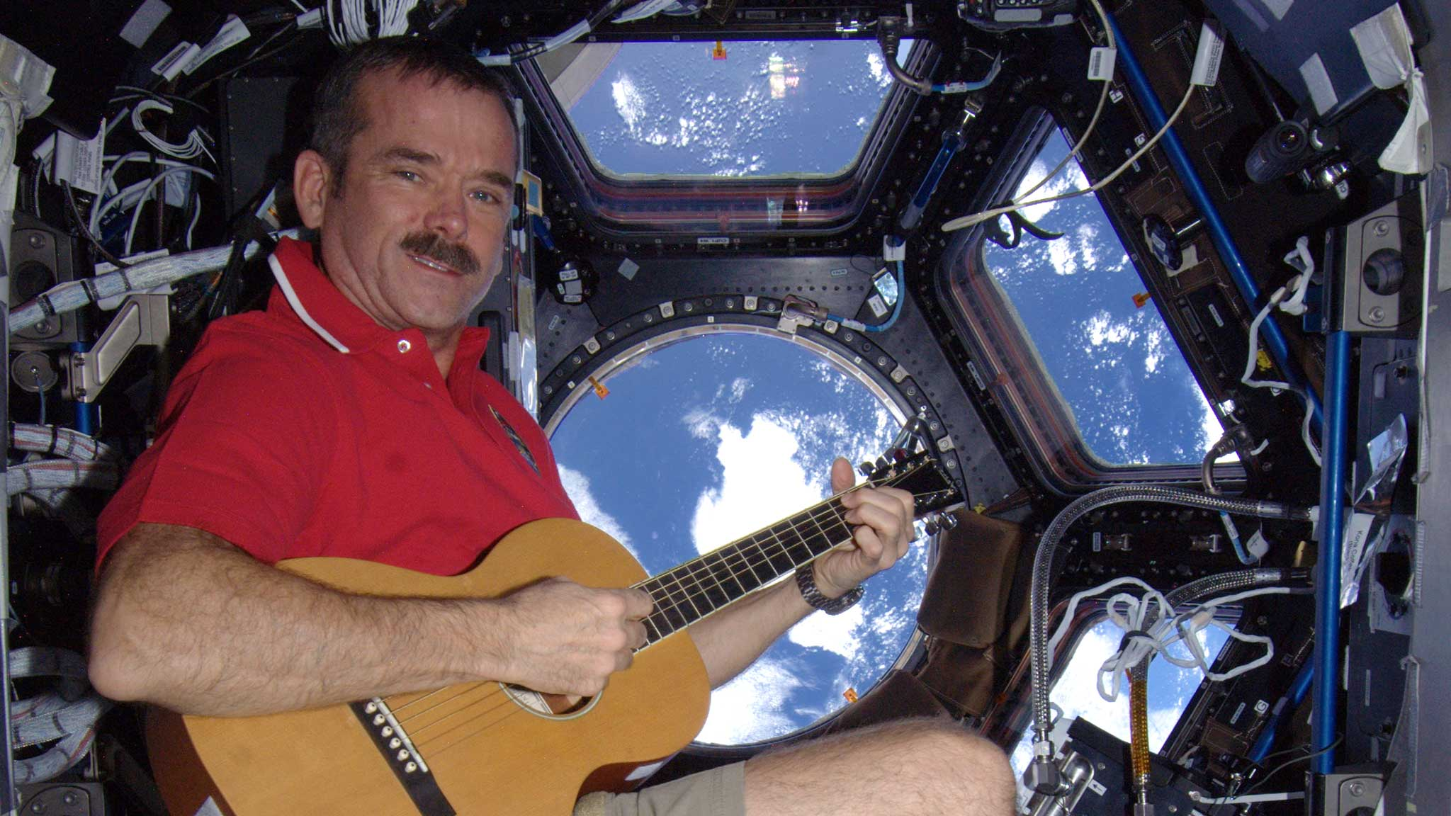 Chris Hadfield 2016 Virtual Classroom