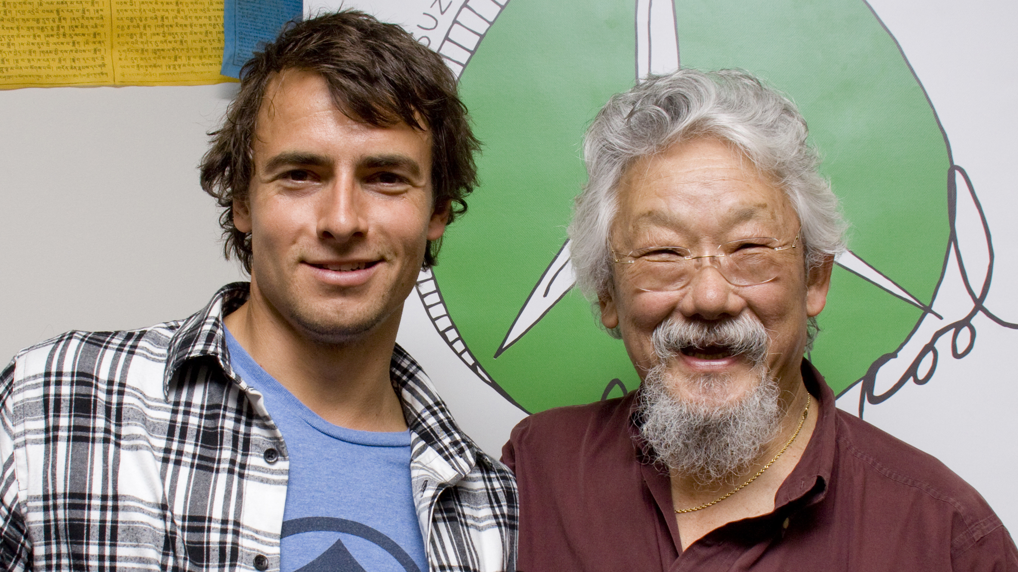 David Suzuki and Adam van Koeverden in your classroom