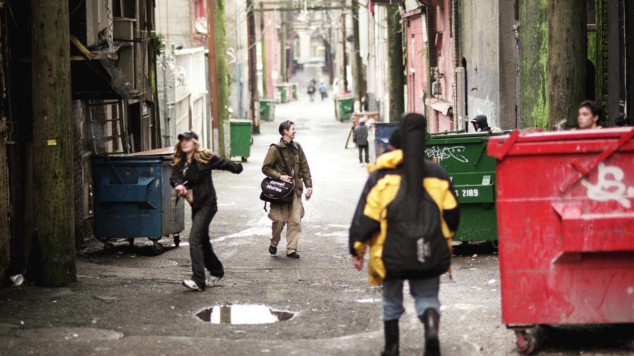 Biseau vers le haut : Chapitre 5 - Jeunes de la rue
