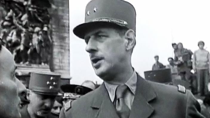 Mystères d'archives : 1944 De Gaulle dans Paris libéré