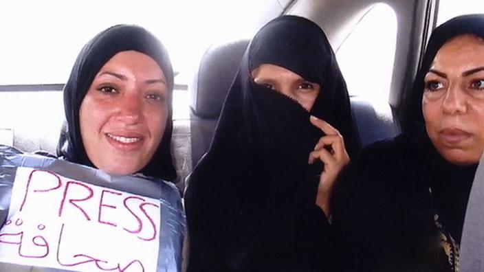 Journalistes en Irak
