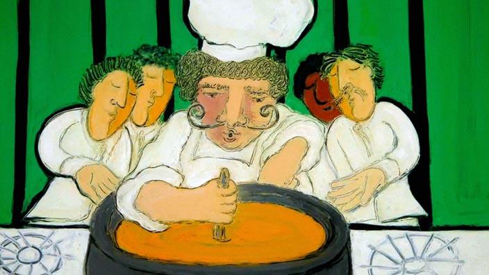 La soupe du jour