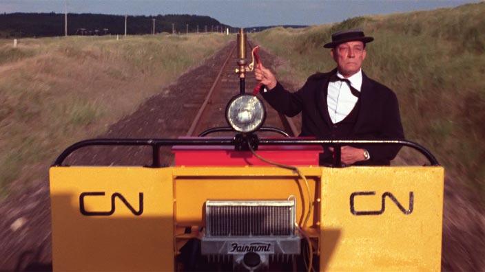 The Railrodder (Version française) par Gerald Potterton - ONF
