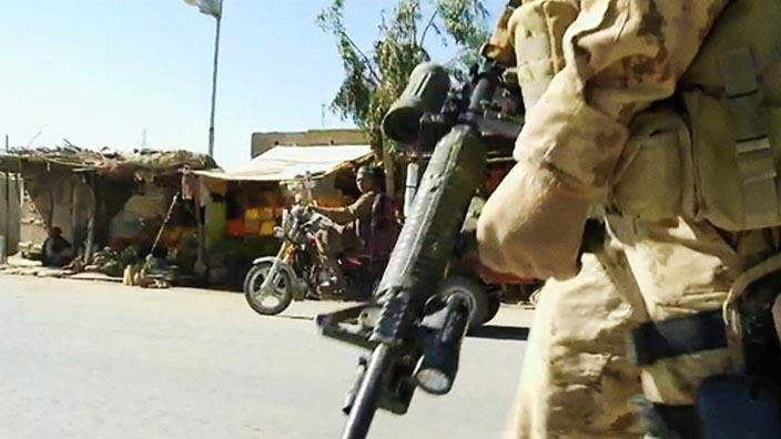 Le 22e Régiment en Afghanistan - La patrouille (Extrait)