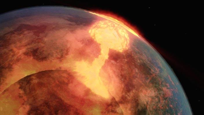 La planète miracle - Un passé violent