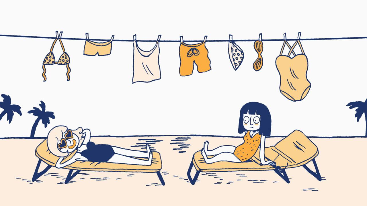 La liste des choses qui existent – Le maillot de bain