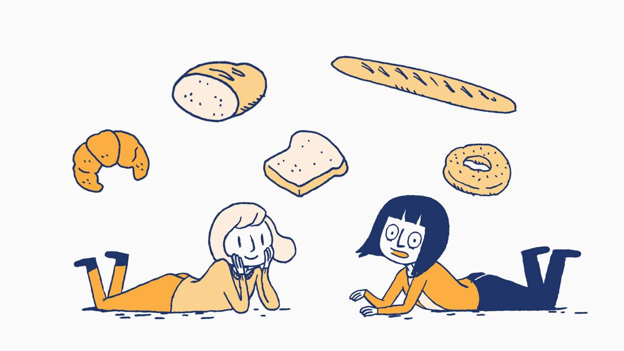 La liste des choses qui existent – Le pain