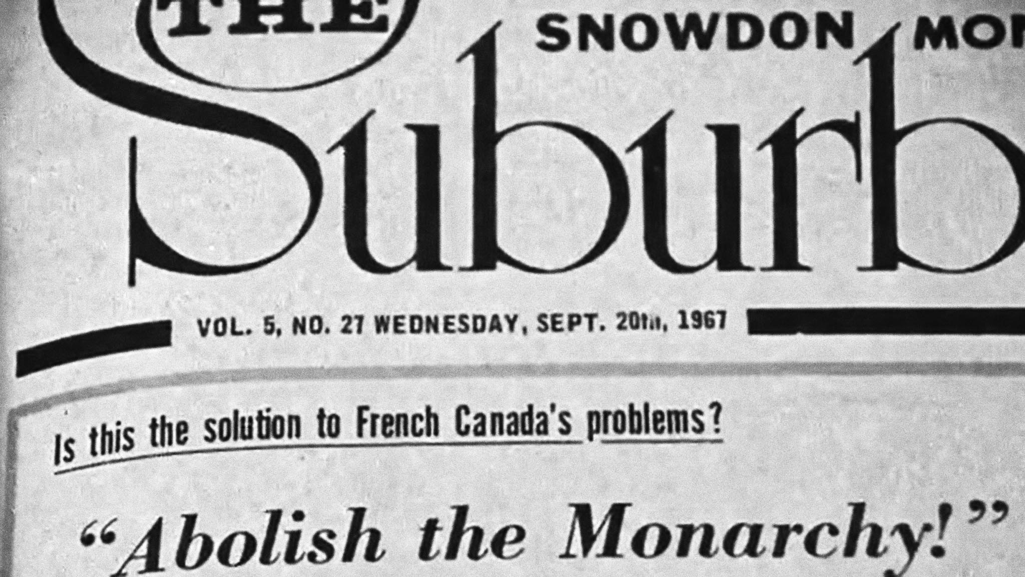 The Role of the English Community in Quebec